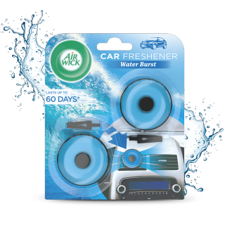 Water Burst Car Dot Clip Car Freshener