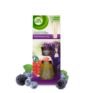 Purple Blackberry Fig Reed Diffuser